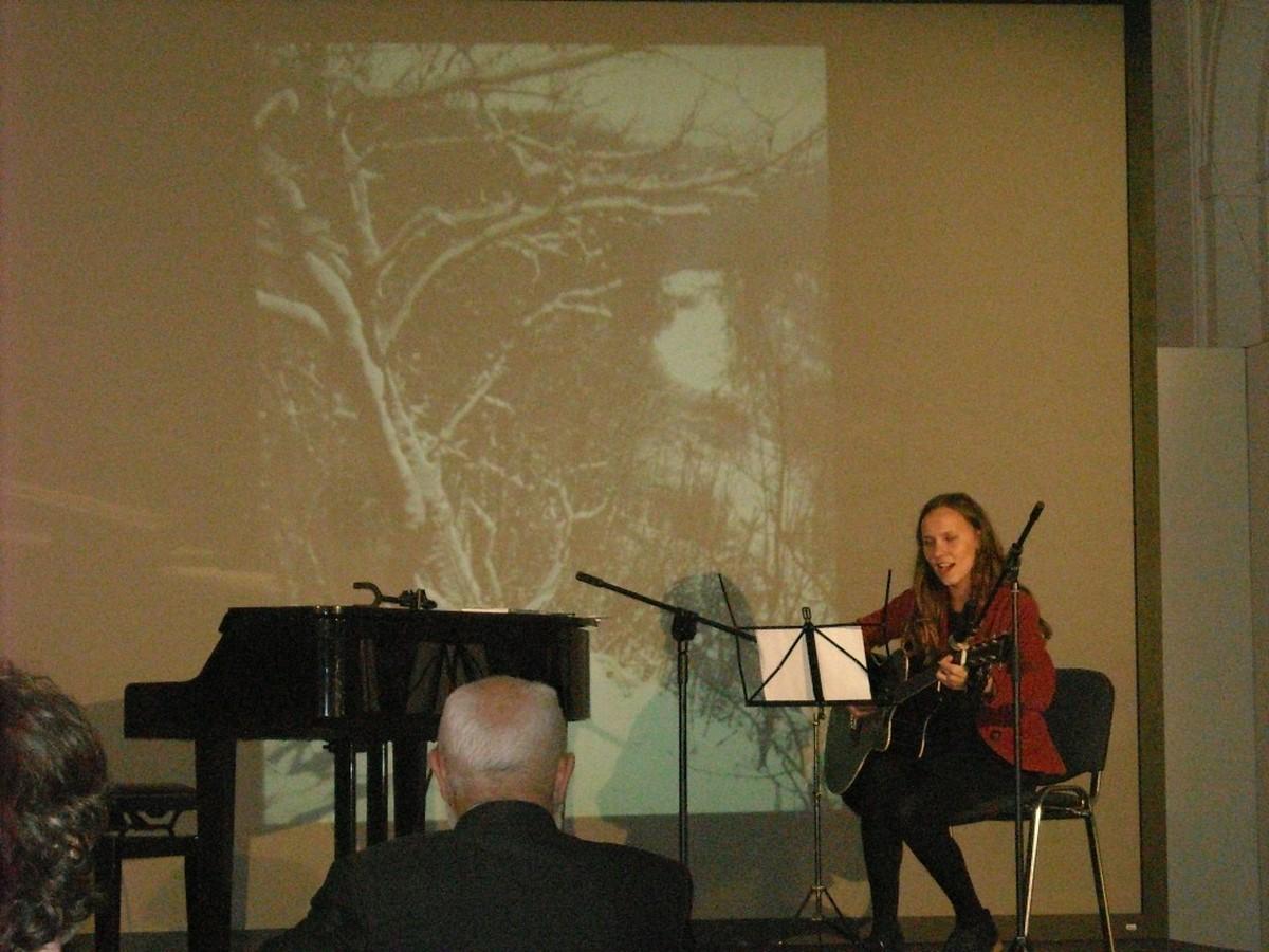 Marina Paniszewa - poetka, kompozytorka i pieśniarka z Białorusi; fot. Maria Duszka